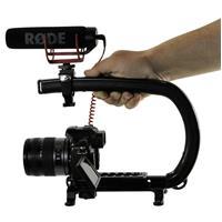 Image of Cam Caddie Scorpion EX Universal Stabilizing Camera Handle Kit, Includes Scorpion EX, Accessory Shoe, Mounting Knob