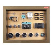 Lomography Diana F+ Deluxe Kit, Includes Camera, Flash and Lenses