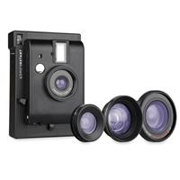 Lomography Lomo'Instant Camera with 3x Lenses, Black