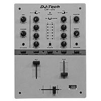 Image of DJ Tech DIF-2S 2 Channel Full Inno Fader Scratch Mixer, Gray