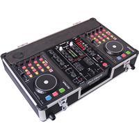 Image of DJ Tech Hybrid 303 DJ Controller Workstation, Includes DJM-303 Twin USB DJ Mixer and 2x Kontrol One USB Deck Controller