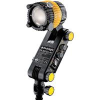 Image of Dedolight 20W LED Bicolor Light Head with Shoe Mount for Video Cameras, >91 CRI Rating, 50-5 degrees Focus Range, 25W Power Draw, Passive Cooling