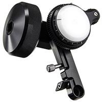 Image of edelkrone Edelkrone FocusONE PRO Follow Focus Unit for Almost Any Diameter Lens, 0.8 Pitch Drive Gear, Single 15mm Rod Mounted Follow Focus