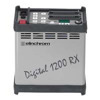 Image of Elinchrom Elinchrom Digital 1200 Rx Power Pack, 1200 watt seconds, with 2 Zoom Action Heads