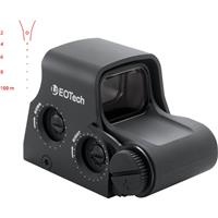 Image of EOTech XPS2 1x Holographic Weapon Sight with Sage Less-Lethal Reticle Pattern, Unlimited Eye Relief, 0.5 MOA Adjustment, Waterproof/Fogproof