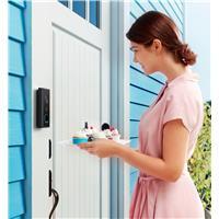 Image of Eufy Wireless 2K Battery-Powered Video Doorbell, Black