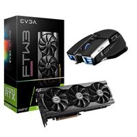 Image of EVGA GeForce RTX 3060 Ti FTW3 ULtra 8GB GDDR6 Gaming Graphics Card - With EVGA X17 Wired Gaming Mouse, Black