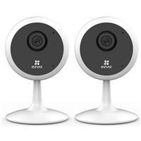 Image of EZVIZ 2 Pack C1C 1080p Indoor Wi-Fi Camera with Built-In Mic