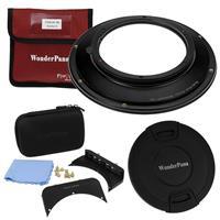 """Image of Fotodiox WonderPana FreeArc 145mm Filter Holder Kit for Nikon PC NIKKOR 19mm f/4E ED Tilt-Shift Lens - Ultra Wide Angle Lens Filter Adapter, Includes 145mm Filter Holder, 6.6"""" Holder Bracket & Lens Cap"""