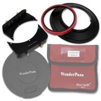 """Image of Fotodiox WonderPana 66 System Holder Kit for Nikon 14mm AF Nikkor f/2.8D ED Lens, Includes WonderPana FreeArc Core Filter Holder and WonderPana 66 6.6"""" Wide Holder Upgrade Bracket"""
