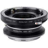 Image of Fotodiox Pro Lens Mount Double Adapter for Contax 645 (C645) Mount & Canon EOS (EF / EF-S) D/SLR Lenses to Fujifilm G-Mount GFX Mirrorless Digital Cameras