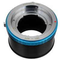 Image of Fotodiox Pro Lens Mount Adapter for Deckel-Bayonett Mount SLR Lens to Micro Four Thirds (MFT, M4/3) Mount Mirrorless Camera Body with Aperture Control Ring