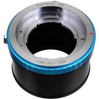 Image of Fotodiox Lens Mount Adapter with Aperture Control Ring for Deckel-Mount Lens to Fujifilm X-Mount Camera