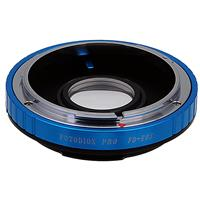 Image of Fotodiox Pro Lens Mount Adapter for Canon FD & FL 35mm SLR Lens to Canon EOS (EF/EF-S) Mount D/SLR Camera Body, with Generation v10 Focus Confirmation Chip and Built-In Aperture Control Dial