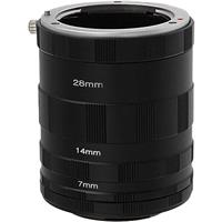 Image of Fotodiox Macro Extension Tube Set for Micro Four Thirds (MFT, M4/3) Mount Mirrorless Cameras for Extreme Close-up Photography