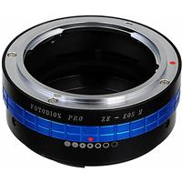 Image of Fotodiox Mount Adapter with Aperture Control Dial for Mamiya ZE Lens to Canon EOS-M (EF-M Mount) Mirrorless Camera