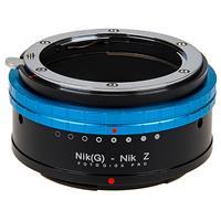 Image of Fotodiox Pro Lens Mount Adapter for Nikon Nikkor F Mount G-Type D/SLR Lenses to Nikon Z-Mount Mirrorless Camera Bodies