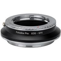 Image of Fotodiox Pro Lens Mount Double Adapter for Pentax K Mount (PK) SLR & Canon EOS (EF / EF-S) D/SLR Lenses to Fujifilm G-Mount GFX Mirrorless Digital Cameras