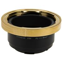 Image of Fotodiox Pro Lens Mount Adapter for Arri PL (Positive Lock) Mount Lenses to Leica L-Mount (T-Mount) Mirrorless Camera Body