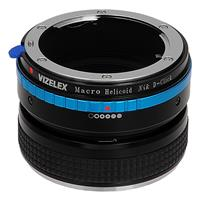 Image of Fotodiox Vizelex Macro Focusing Helicoid for Nikon G and DX Lenses to Nikon DSLR Camera