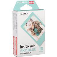Image of Fujifilm Instax Mini Sky Blue Instant Film, 10 Exposures