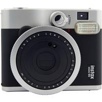 Image of Fujifilm Instax Mini 90 Neo Classic Camera, Instant Film Camera, USA - Black