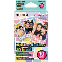 Fujifilm Stained Glass Film for instax mini Cameras, 10 Pack