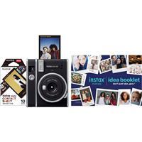 Image of Fujifilm Instax Mini 40 Instant Film Camera Bundle with Instax Mini Contact Sheet Film & DIY Idea Booklet