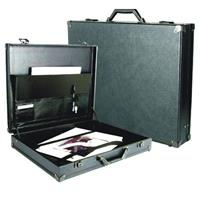 Florence Master Art Case, Wood Core Laminated Portfolio Attache' with Metal Keyed Latches & Meta Product image - 2059