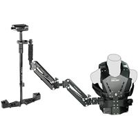 Image of FLYCAM FLYCAM Galaxy Dual-Arm and Vest with Redking Video Camera Stabilizer, 15.4 Lbs Capacity (Vest and Stabilizer Only)