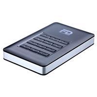 Fantom Drives 500GB DataShield 256-Bit AES Hardware Encrypted Portable USB 3.0 External Hard Drive