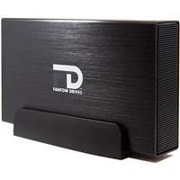 Fantom Drives G-Force Series 3 1TB 5400RPM External Hard Drive, USB 3.0/2.0 & eSATA, Mac, Windows, PS4 and Xbox, Black Aluminum