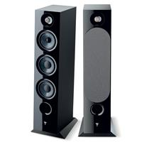 Image of Focal Chora 826 3-Way Bass-Reflex Floorstanding Loudspeaker, Black, Single