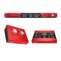 Image of Focusrite Red 16Line 64x64 Thunderbolt 3 Audio Interface for Pro Tools - With RedNet X2P 2x2 Dante Audio Interface with Red Evolution Mic Pre-Amps, RedNet AM2 Stereo Dante Headphone Amplifier