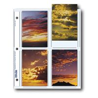 "Print File Archival Photo Pages Holds Eight 3 1/2x5"" Prints, Pack of 500 Product image - 860"