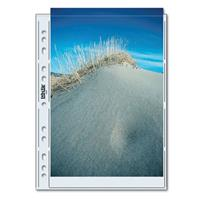 """Print File Archival Photo Pages Holds Two A4, (8-1/4x11-11/16""""), Size Prints or Documents, Pack Product image - 1817"""