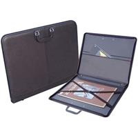 "Prat Paris Start 4 Genuine Leather Portfolio, Portfolio with Internal Holding Straps, 23x31x1"", Product image - 1230"