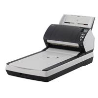 Image of Fujitsu fi-7260 Sheetfed/Flatbed Color Duplex Scanner, 60ppm Simplex/120ipm Duplex Scan Speed, 600dpi Optical Resolution, 80 Sheets Capacity, USB 3.0