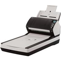 Image of Fujitsu fi-7280 Sheetfed/Flatbed Color Duplex Scanner, 80ppm Simplex/160ipm Duplex Scan Speed, 600dpi Optical Resolution, 80 Sheets Capacity, USB 3.0