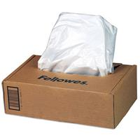 Fellowes Powershred Waste Bags for C-420 and C-480 Series Shredders, 50/Roll