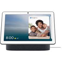 """Google Nest Hub Max with 10"""" Touchscreen and Built-In Google Assistant, Charcoal"""