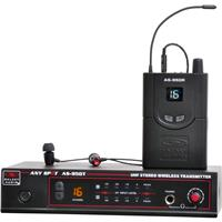 Image of Galaxy Audio Any Spot AS-950 Wireless Personal Monitor System, Includes Transmitter, Bodypack Receiver and EB4 Earbuds, Frequency P2: 470-489 MHz