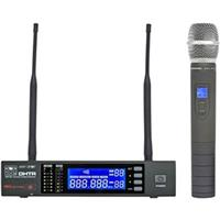 Image of Galaxy Audio DHT Wireless Dynamic Cardioid Handheld Microphone System, CODE L 655-679MHz, Includes DHTR Receiver, HH64 Handheld Transmitter, Single Rack Mount