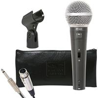 """Image of Galaxy Audio RT-66 Dynamic Cardioid Vocal Microphone with On/Off Switch & 1/4"""" Cable (P Option), 50Hz-15kHz Frequency Response, 250 Ohms Impedance"""