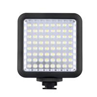Image of Godox LED64 Portable & Dimmable Continuous On Camera LED Panel Video Light for DSLR Cameras & Camcorders, 5500K-6500K Color Temperature