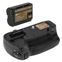 Image of Green Extreme MB-D15 Battery Grip for Nikon D7100 & D7200 With EN-EL15 Battery