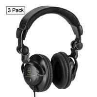 Image of H&A Closed-Back Studio Monitor Headphones (3-Pack)