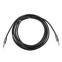 Image of H&A H&A Stereo Mini Male to Stereo Mini Male Auxilary Cable (Gold Series) 10'