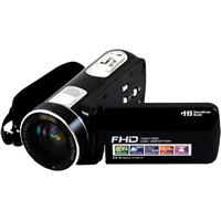 Image of Hamilton Buhl ActionPro 24MP 8X Digital Zoom Video Camera with Rechargeable Battery and Camcorder Pouch