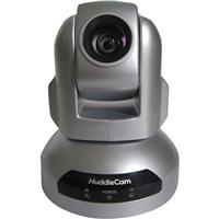 HuddleCamHD 2.1MP 1080p Indoor USB 3.0 PTZ Conferencing Camera, 10x Optical Zoom, 30fps, 51deg. FOV, Silver